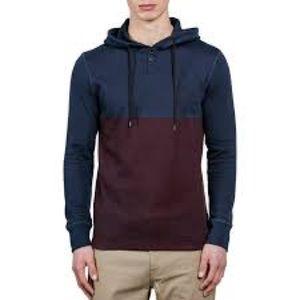 Thermal hooded long sleeve